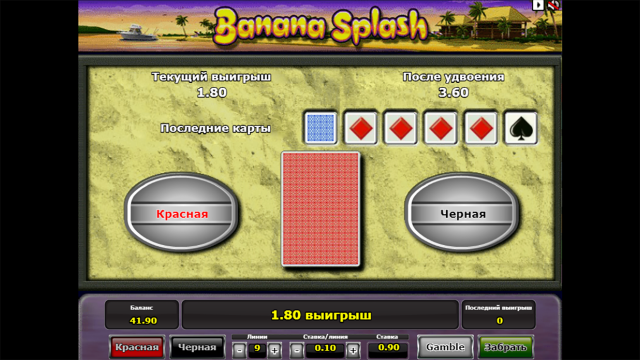 Характеристики слота Banana Splash 8