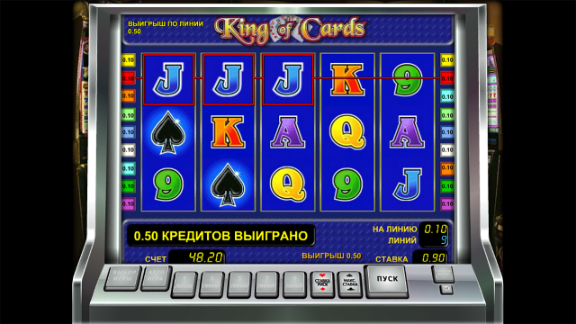 Характеристики слота King Of Cards 3