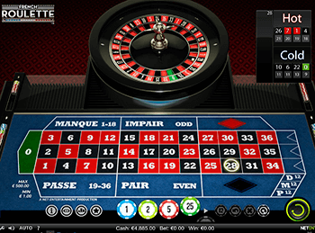 Бонусная игра French Roulette 5