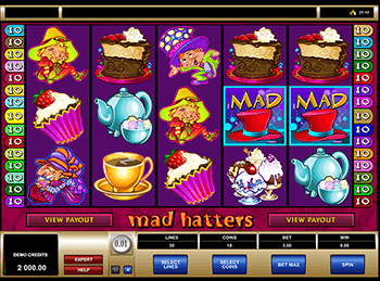 Бонусная игра Mad Hatters 2