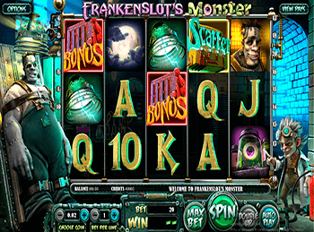 Характеристики слота Frankenslot's Monster 2